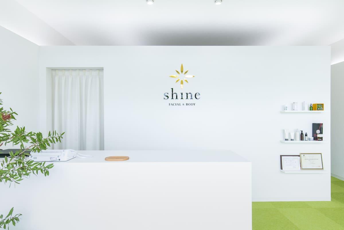 shine FACIAL & BODY 店舗撮影