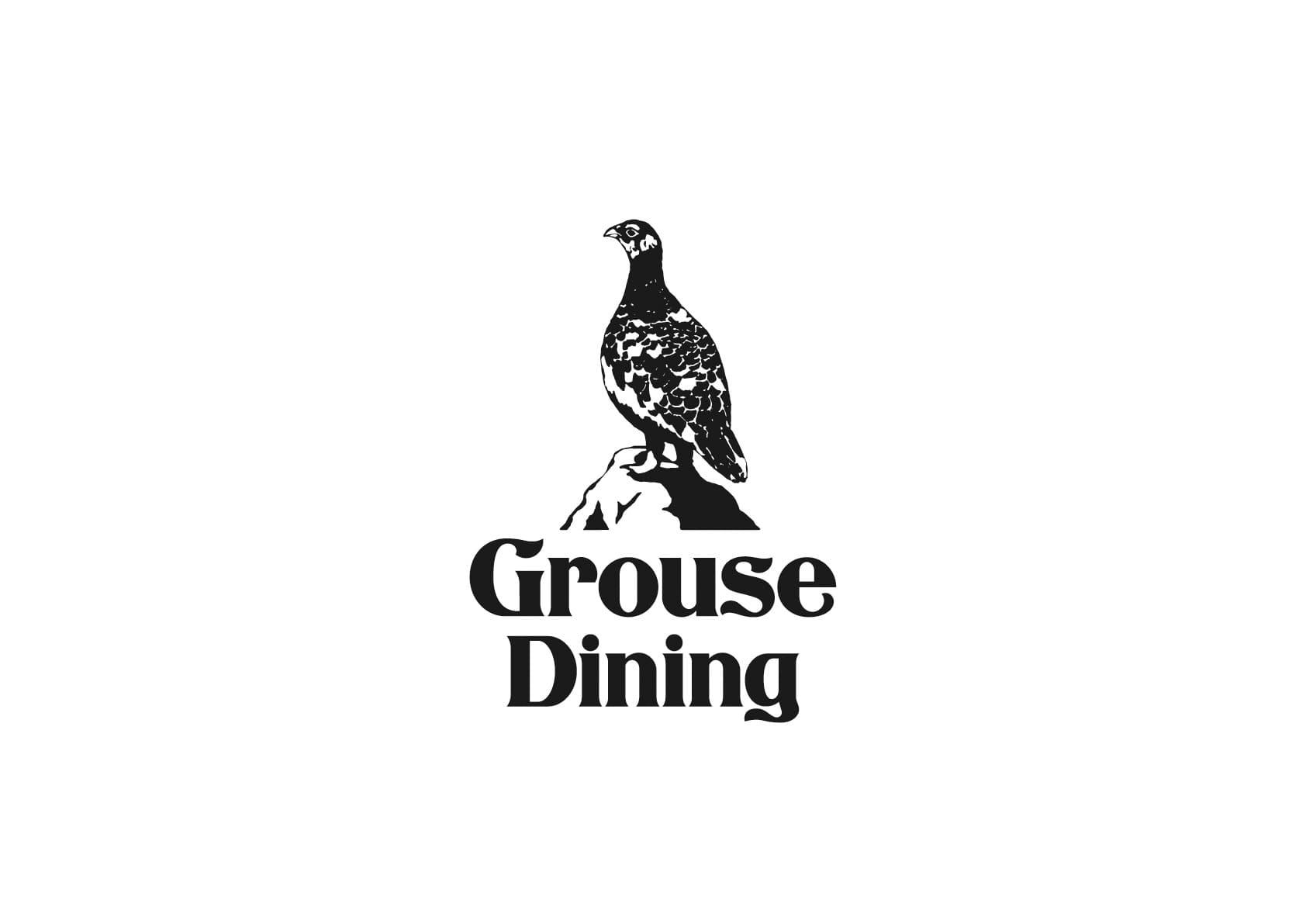 Grouse Dining ロゴ制作